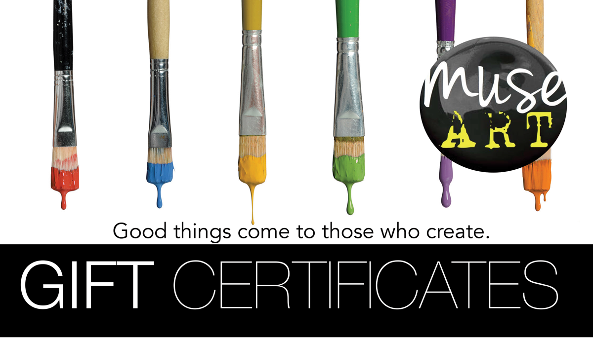 MUSE ART Gift Certificate